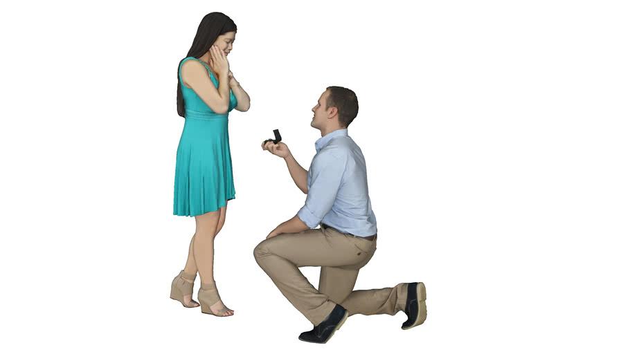 Pidiendo matrimonio