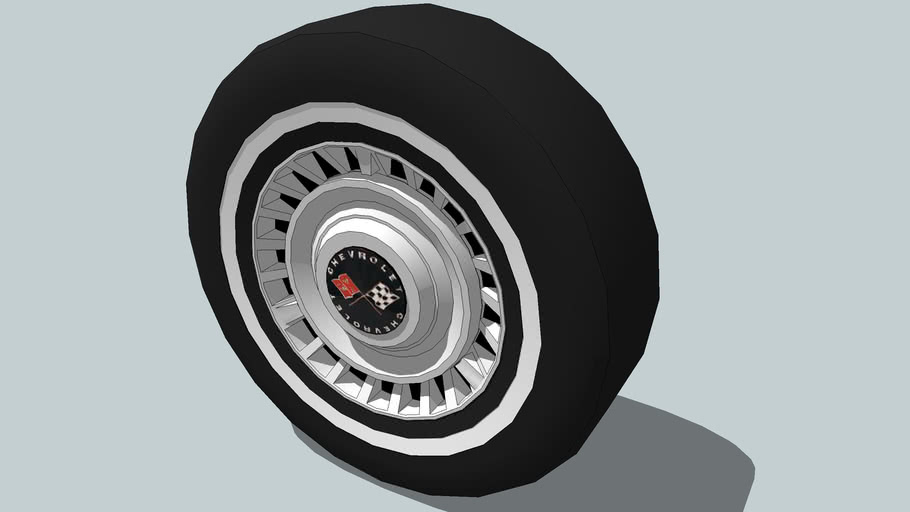 old chevrolet wheels