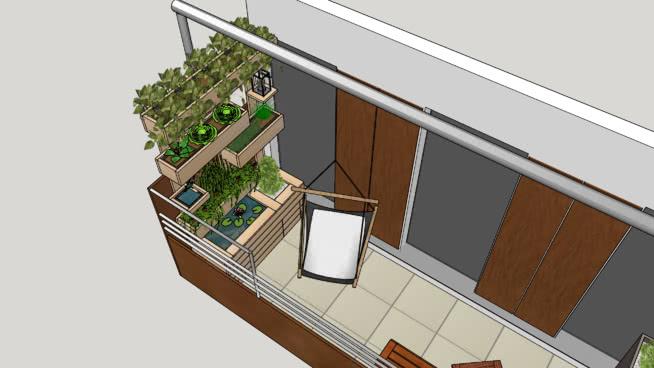 Balkon Geli