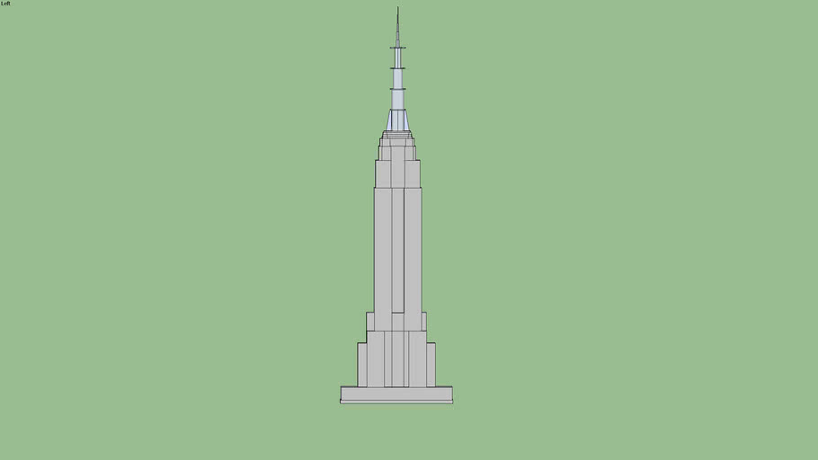Empire State Building By Gangsta4q