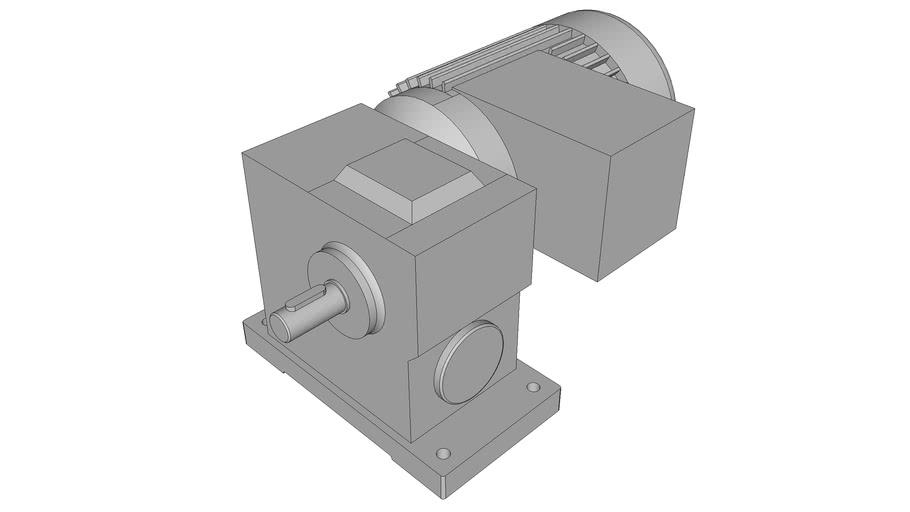 Schneckengetriebemotoren Typ RM, 90 Watt