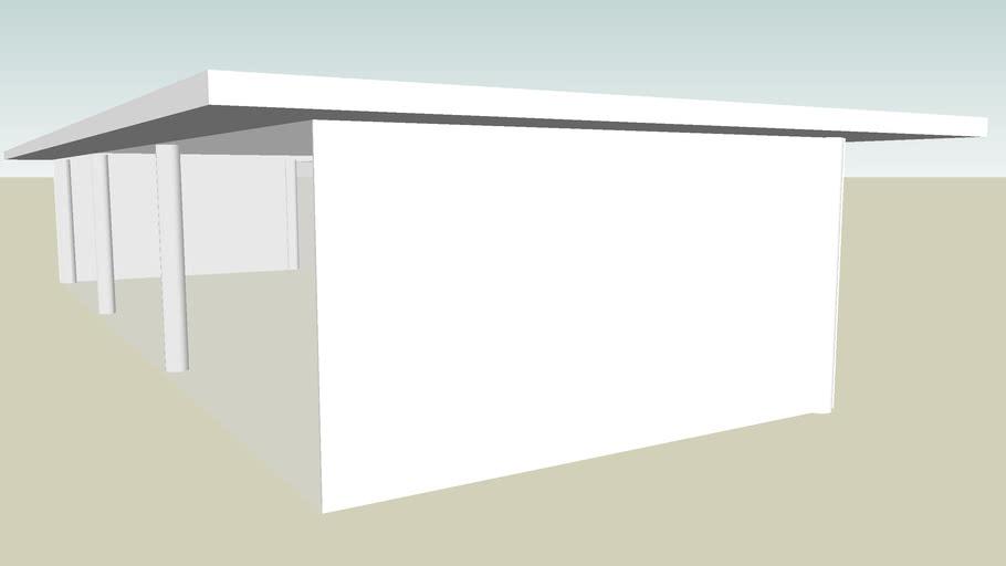 block level 20x8m