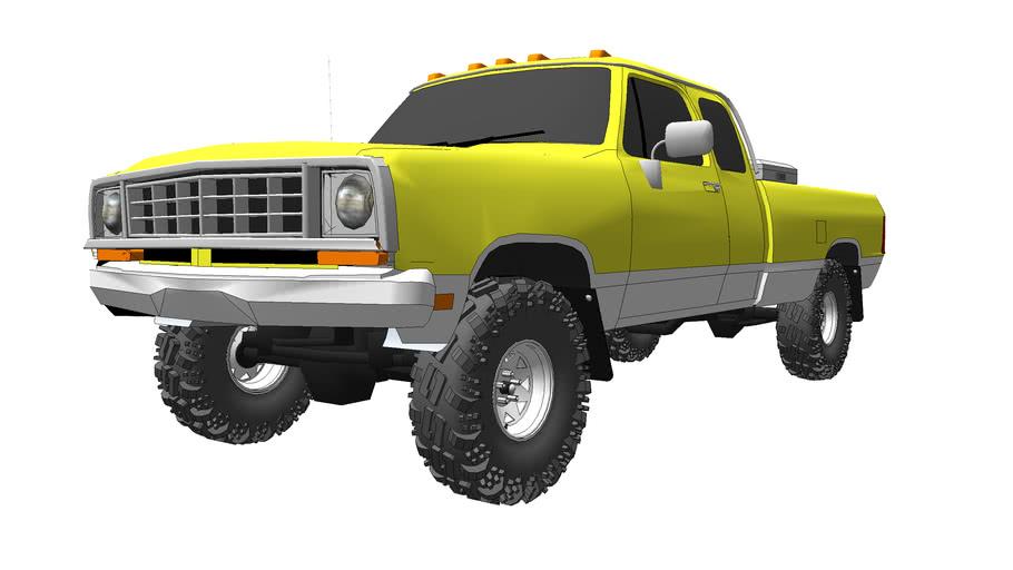 1976 Dodge D100 Extracab 4x4