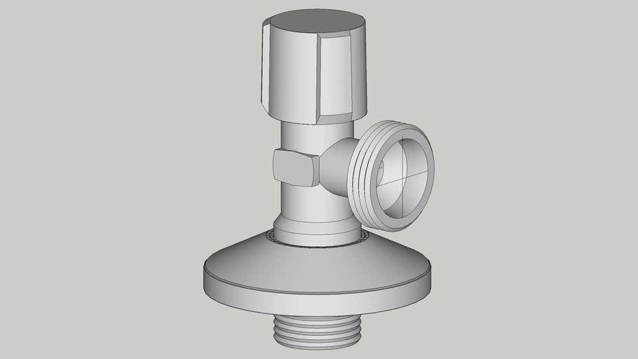 033000699 Угловой вентиль Schell Comfort 1_2_x3_4_ для стиральных и п.м. машин