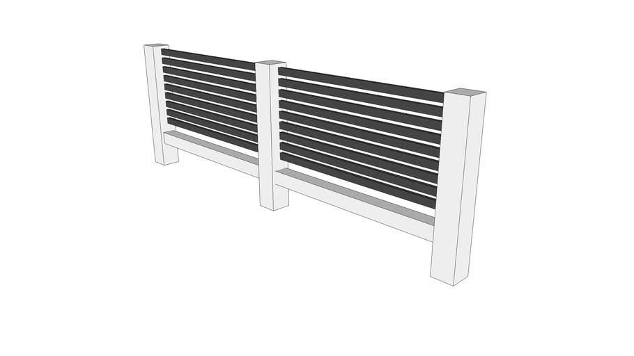 Backyard Fence Assembly