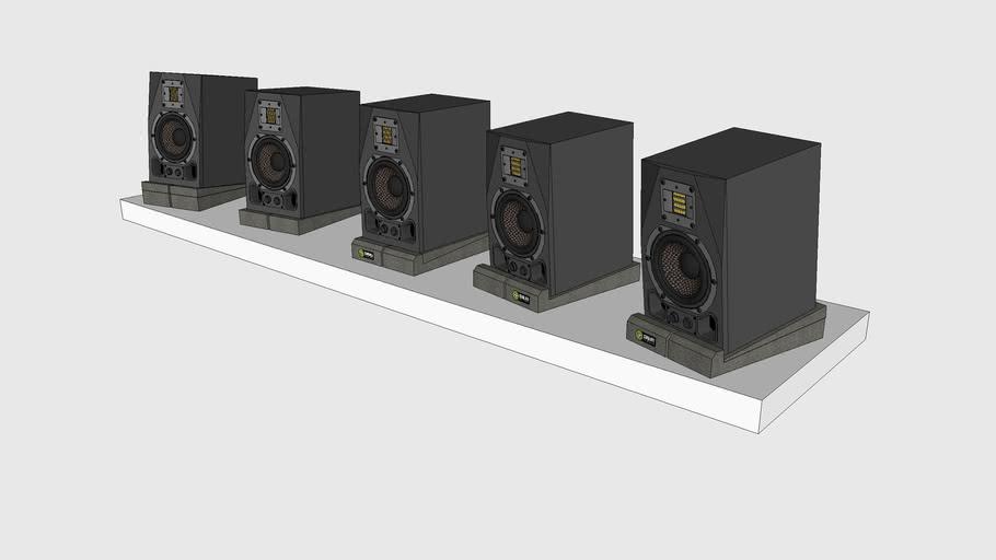 Skum Acoustics - Fötter – Speaker Isolation Pads
