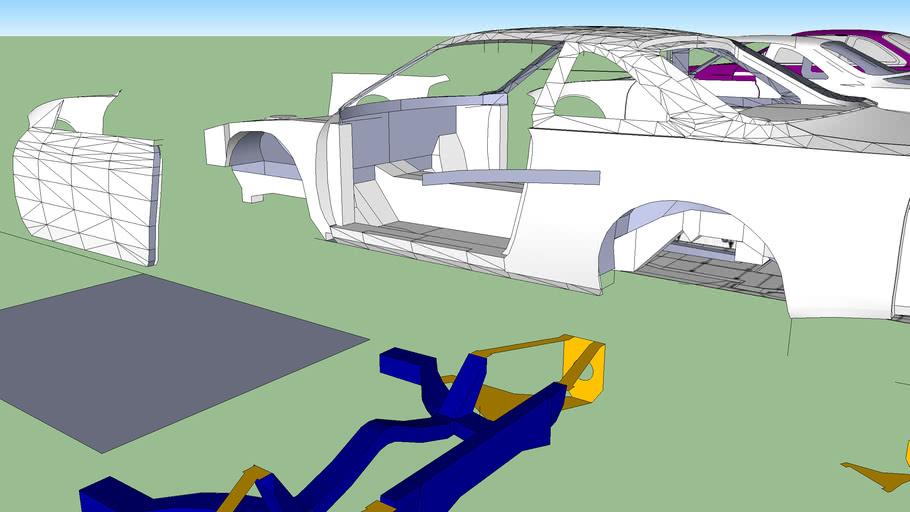 Nissan Silvia S14 Body