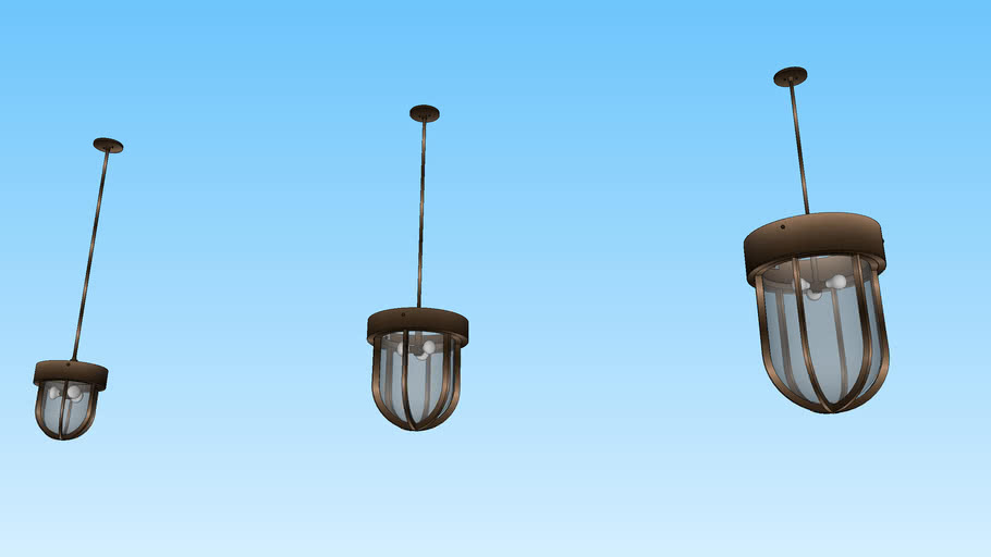 Factory Pendant Light by The Urban Electric Company
