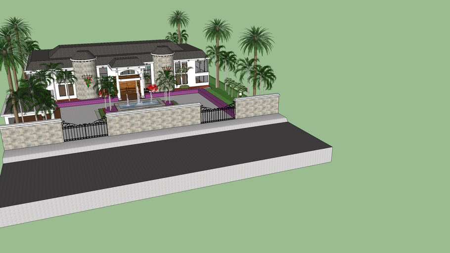 mansion/family guy house/small building