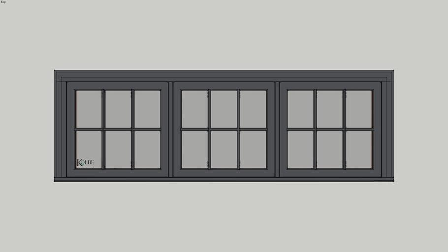 """Kolbe Ultra Casement KUC326 F.S. 8'-0"""" x 2'-6"""" R.O. 8'-0 1/2"""" x 2'-6 1/2"""
