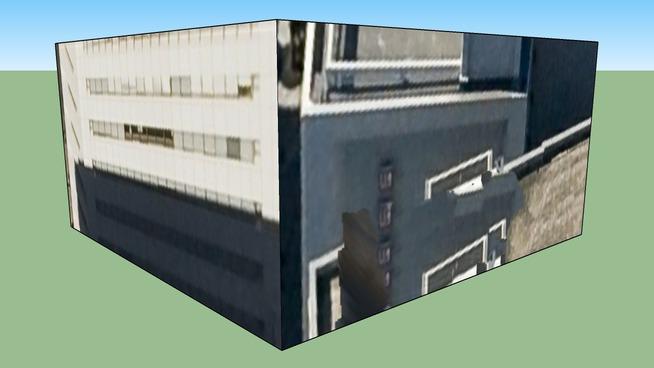 日本, 广岛县广岛市的建筑模型