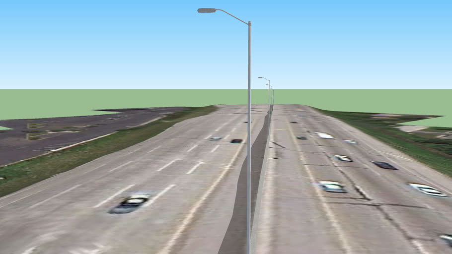 Straight A Street Lights on the I-90 Jane Addams Tollway Part 3