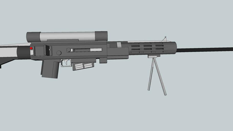 Silver Shields Concept 50. cal 'Interceptor' Sniper Rifle