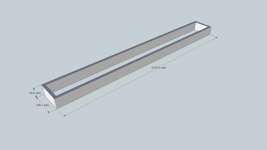 Rodape 65x1210x140 mm
