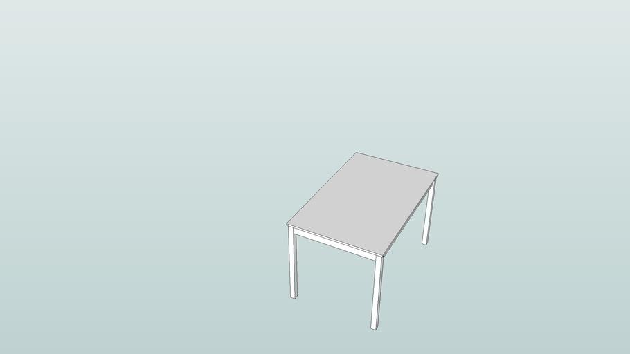 Ikea table Bjorkudden