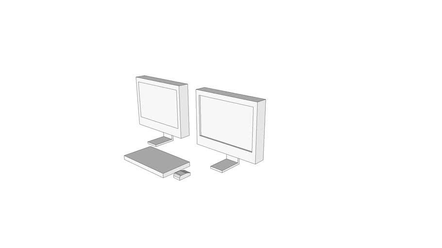 X4112 - Console, PACS, Remote View, 1k X 1k, 2 Monitors