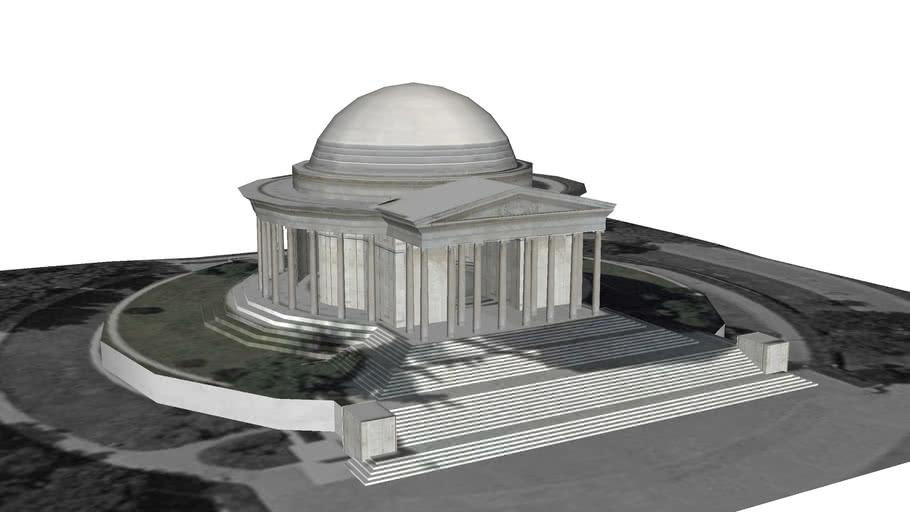 Thomas Jefferson Memorial, (1943), John Russell Pope, FAIA