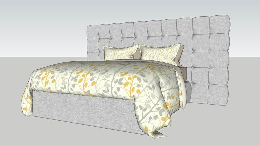 SONGES Bed - queen size bed