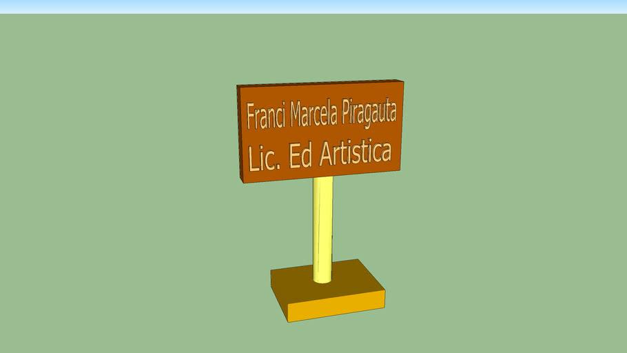 porta tarjeta Franci Piragauta