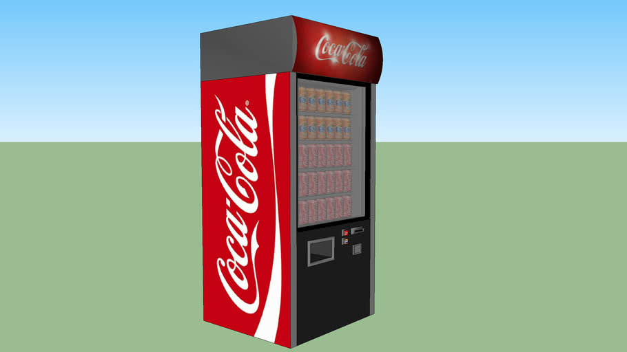 Coke Vending machine 2