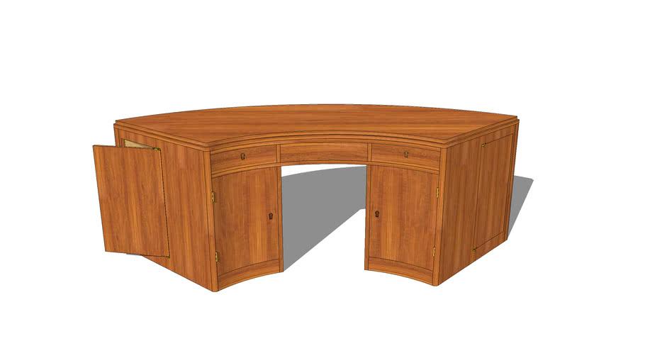 Deco desk by Jacques Adnet