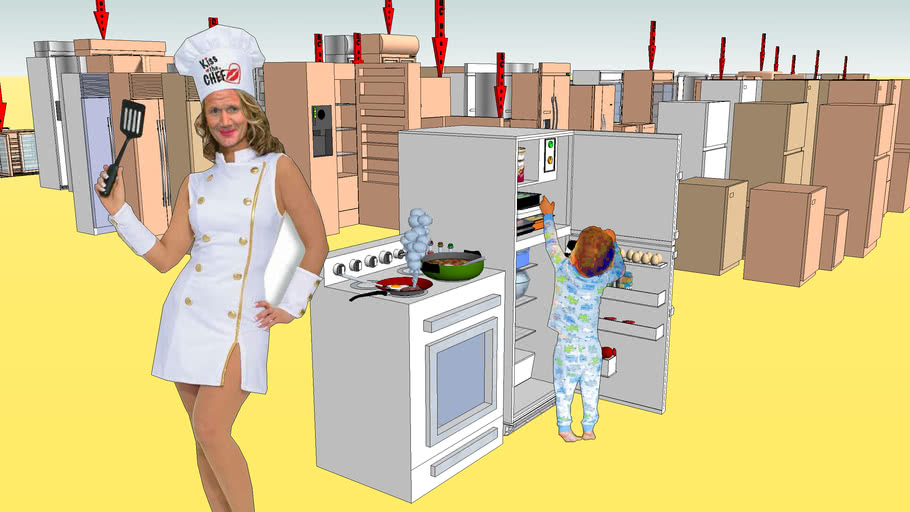 refrigerator props