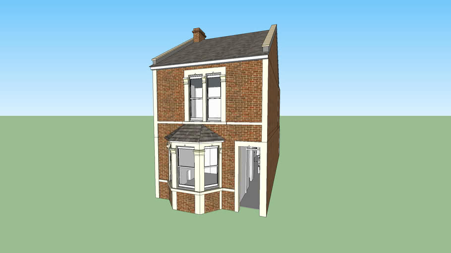 Victorian Terrace House Small 2 Bed Bristol 3d Warehouse