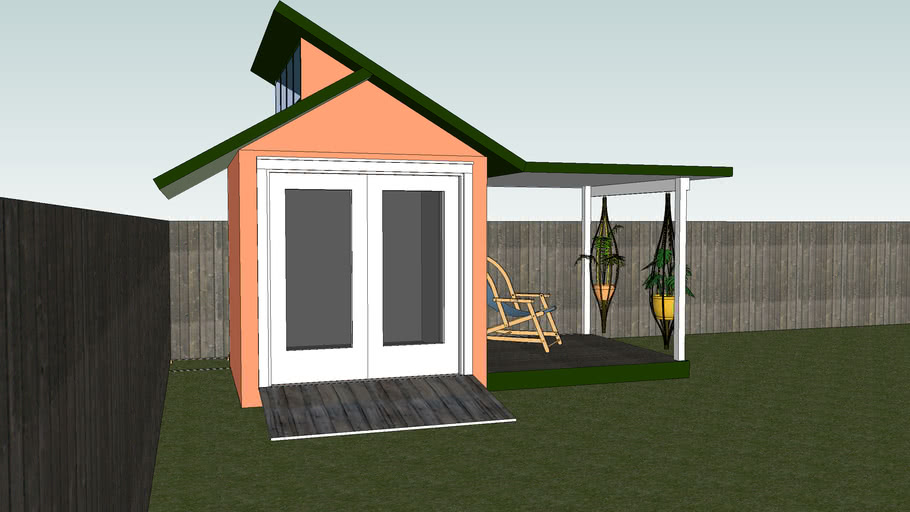 a garden shed/shelter