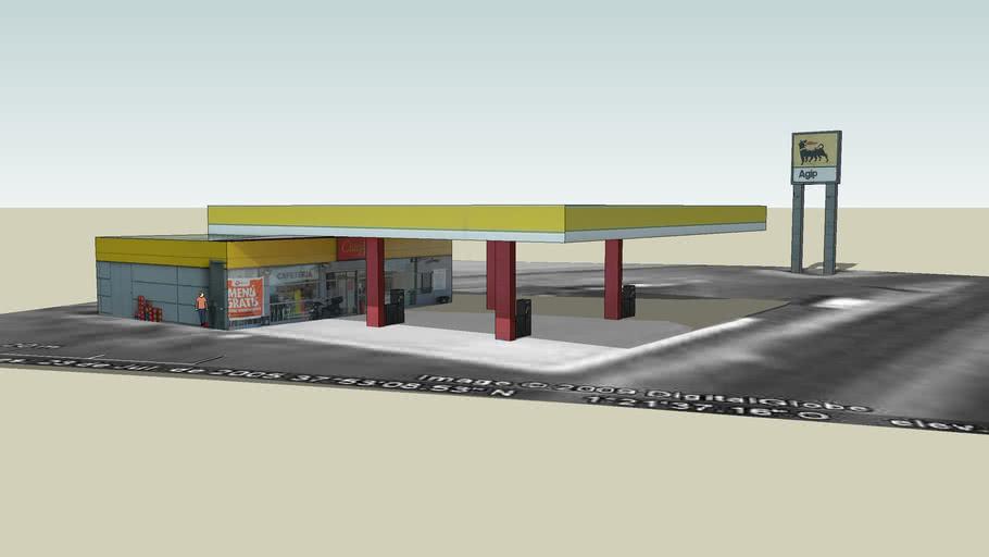 Gasolinera Agip, Librilla