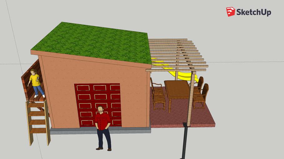 Custom shed