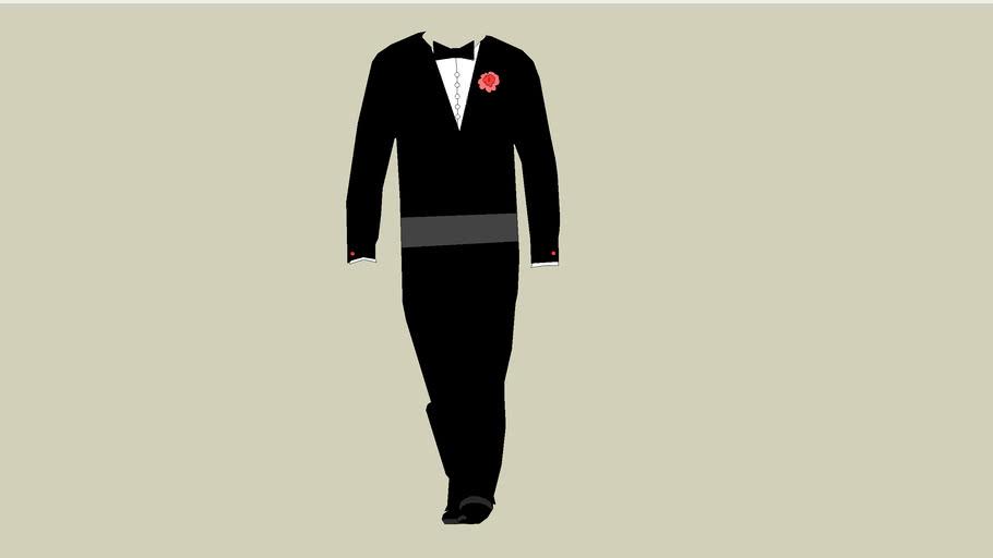Bryce's tuxedo