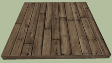 Tile Floor-Wood