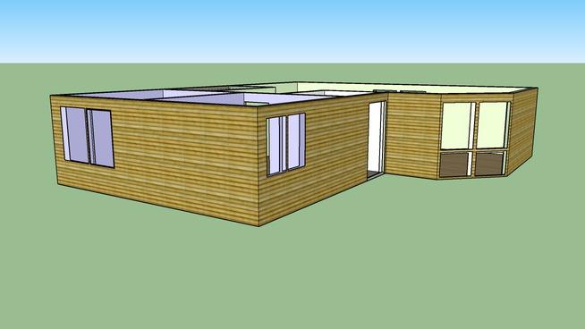 forslag til hytte