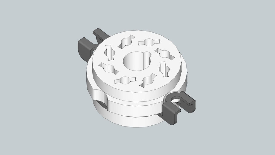 8-pin tube ocket