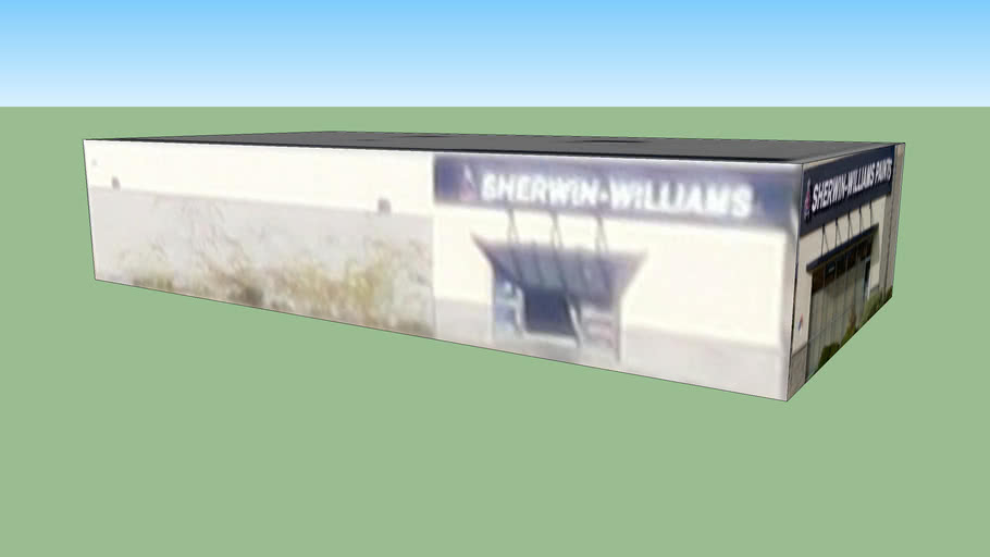 Sherwin Williams, Huntington Beach, CA, USA