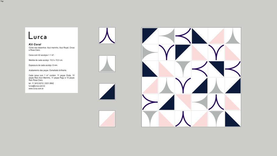 Azulejos Kit Coral