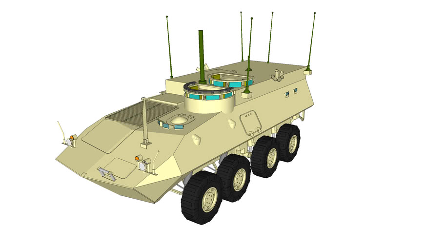 USMC - Light Armored Vehicle Command and Control