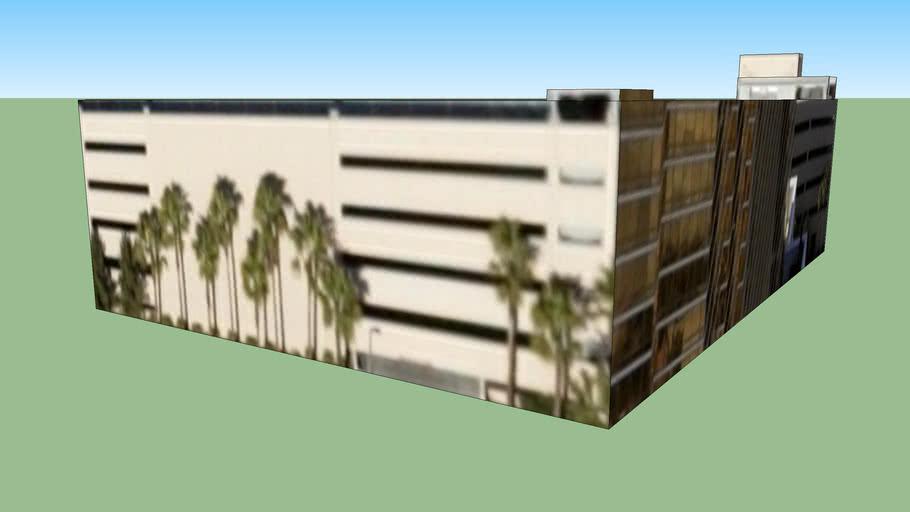 Budova na adrese Las Vegas, Nevada, USA