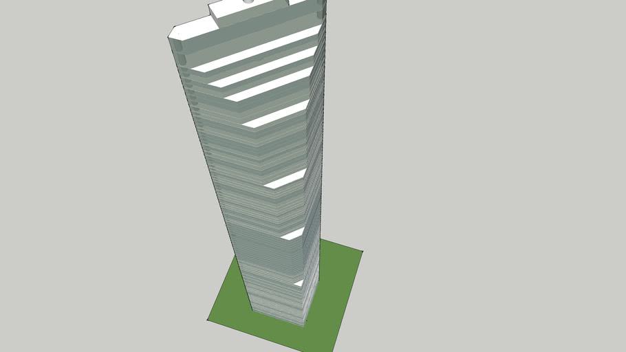 modern high building