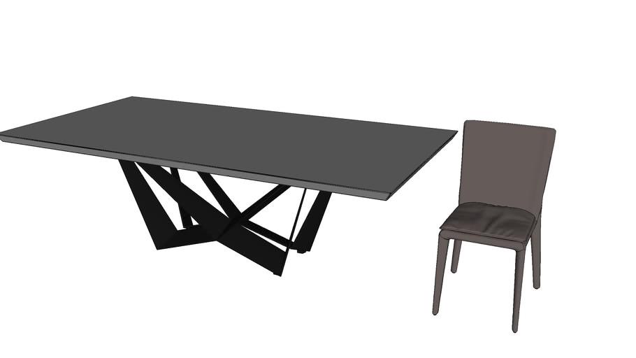 bàn ăn + ghế