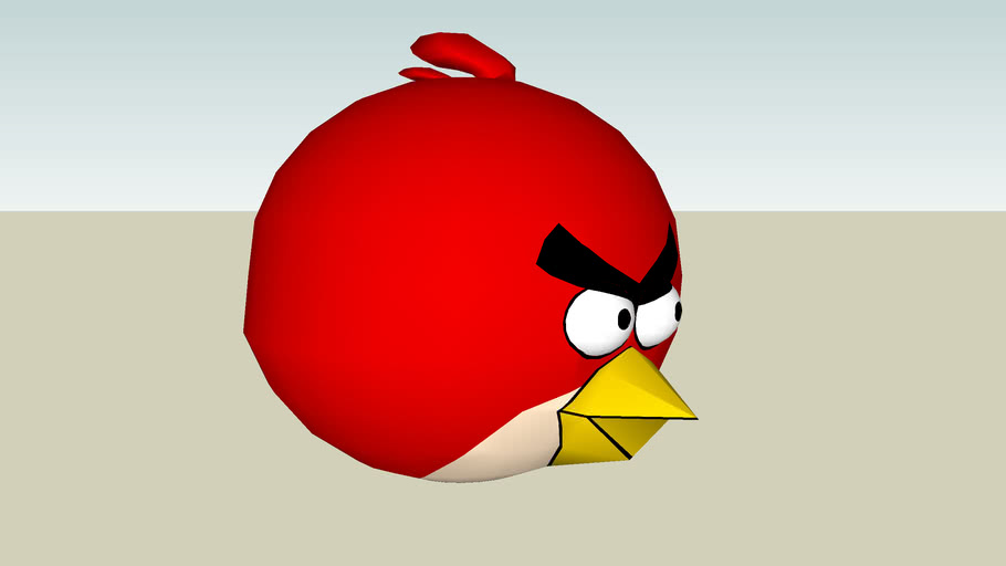 """Angry Birds #1 """"red"""""""