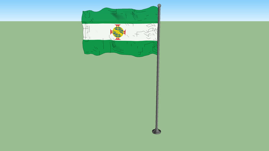 Flag of the Cisplatina Province during the Portuguese and Brazilian occupation (1821-1825)