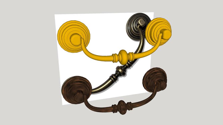 Drawer Pull Handle Drop Bail