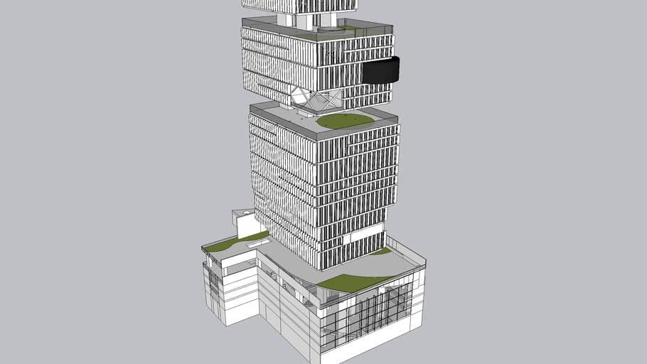 Modelo 3D Ágora