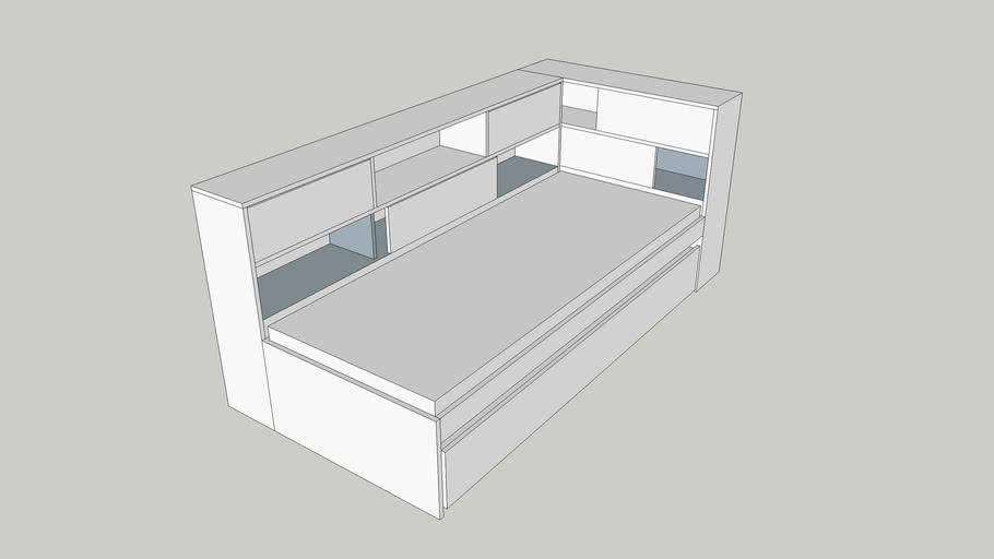 TCHIBO-bed