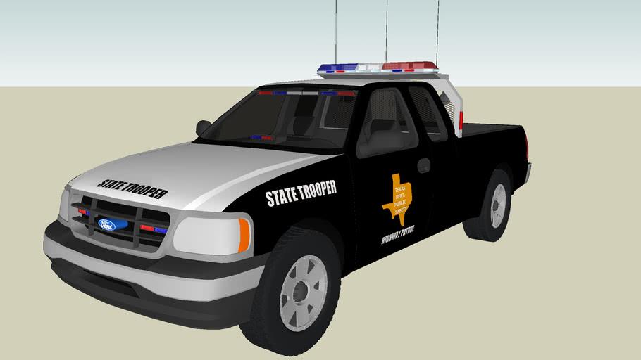 Texas DPS Highway Patrol Ford F-150