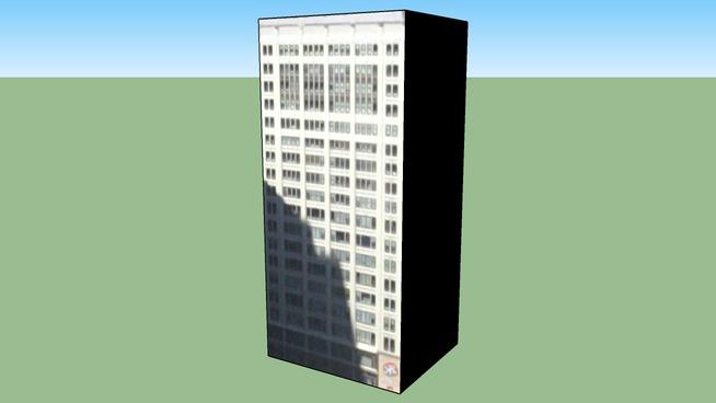 Byggnad på Chicago, IL, USA