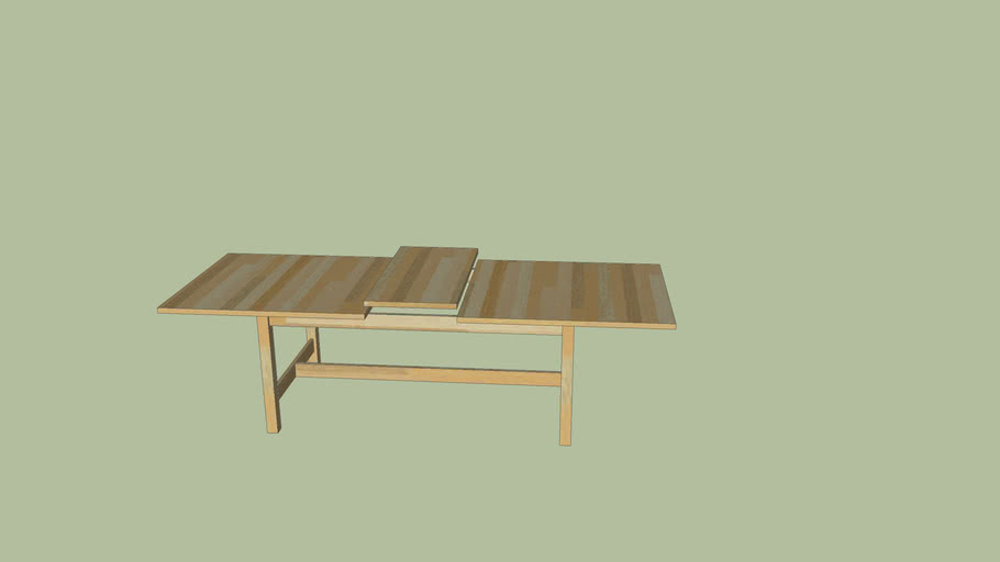 table IKEA en bois