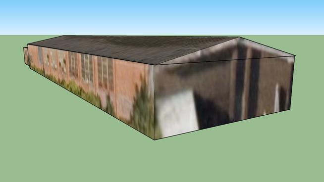 Canton, 加的夫, South Glamorgan CF5 1ZA, (大不列颠)联合王国的建筑模型