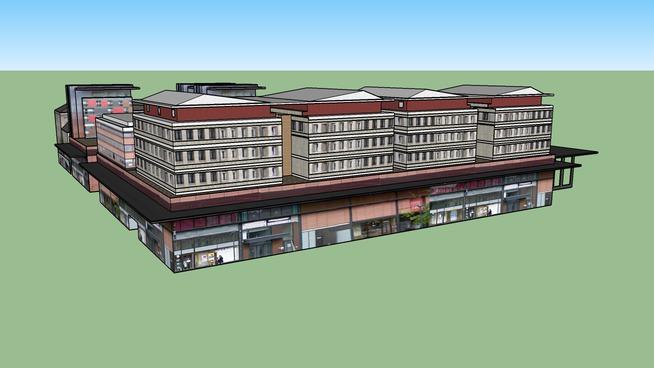 Centre Commercial et Bureau Places d'Armes (Valenciennes)